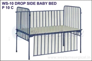 Drop Side Baby Bed