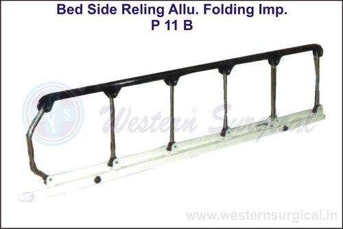 Bed Side Reling Allu. Folding Imp.