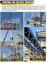 Heavy Steel Structure Fabrication Services