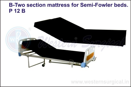 B-Two Section Mattress For Semi-Fowler Beds