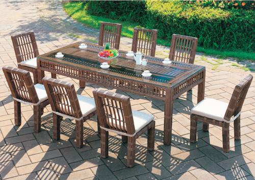 Fancy Style Outdoor Wicker Coffee Set