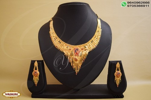 Traditional designer necklace