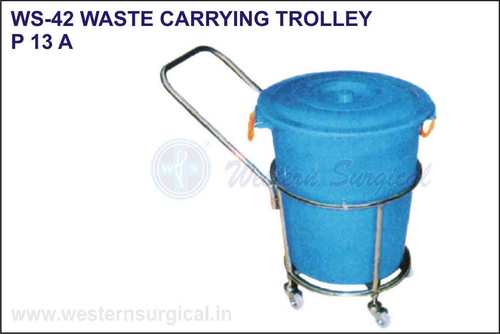 Waste Carrying Trolley