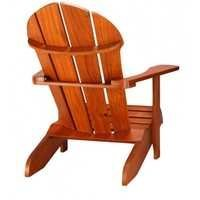 Wooden outdoor chair