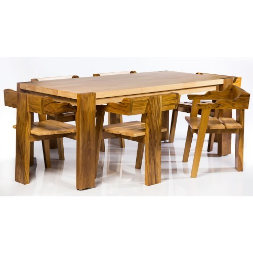 6 Seaters Wooden Dining table