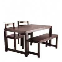 Rubber wood Dining Set