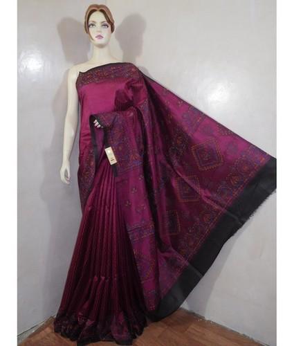 Pure Dupion Silk Sarees