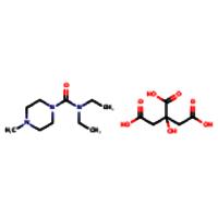 Diethylcarbamazine citrate salt