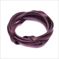 Flat Leather Cord