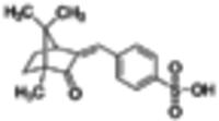 Benzylidene camphor sulfonic acid