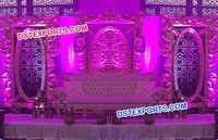Fabulous Wedding Stage Fiber Panels