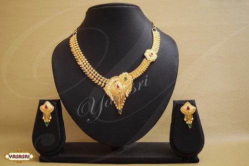 Fancy Design Cz Necklace