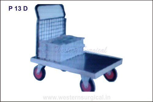 BMW Box type trolly MS/Steel both available