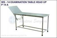 Examination Table Head Up