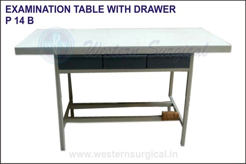 Examination Table With Drawer