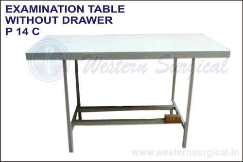 Examination Table With Out Drawer