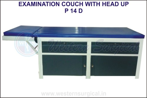 Examination Couch With Head Up
