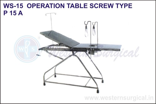 Operation Table Screw Type
