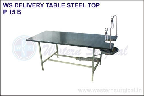 Delivery Table Steel Top
