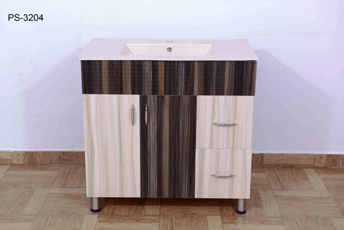 Wooden Bathroom Storage Cabinet