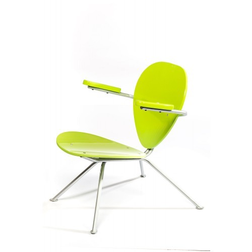 Green steel Chair