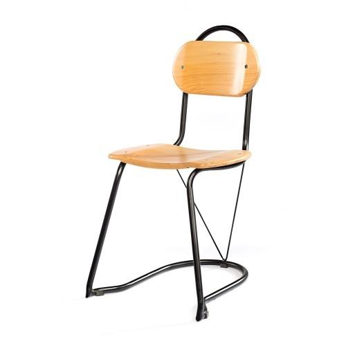 Wooden steel Chair