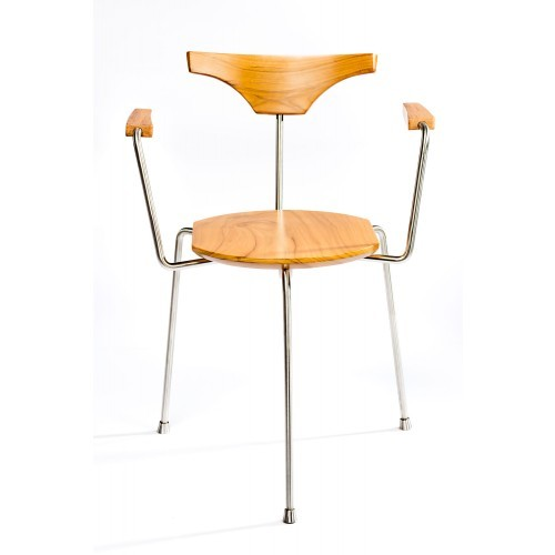 Wooden Metal Chair