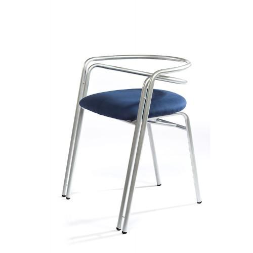 Blue Steel Chair