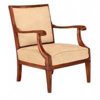 Oak Wooden Beige chair