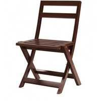 Alpine Red Wooden chair