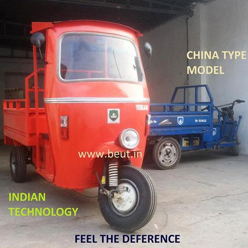 Battery Powered Loading Rickshaw