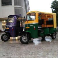 Electric Loading Auto Rickshaw