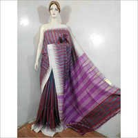 Purple Silk Designer Saree