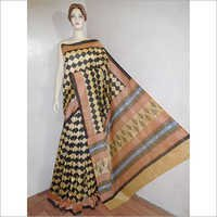 Chanderi Silk Handwoven Saree