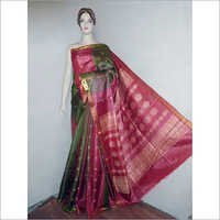 Raw Tussar Pure Silk Saree