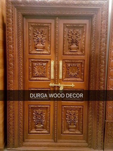 teakwood designer door