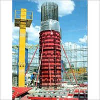 Circular Steel Column Form System