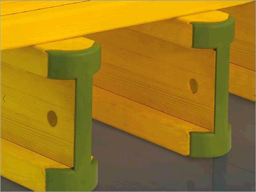 Wooden Scaffolding Column