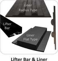 Ball Mill Shell Plate Liner & Lifter Bar