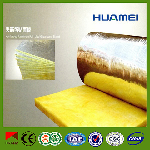 Glass Wool Insulation with Aluminium Foil