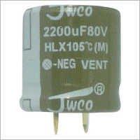 HLX Series Aluminum Electrolytic Capacitor