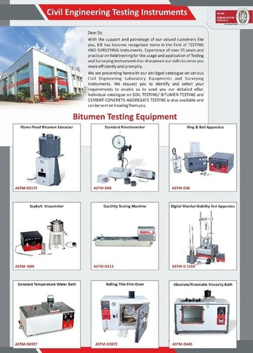Civil Testing Instruments