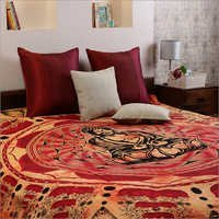 Orange Cotton Tie Dye buddha Bed Covers Hippie Bohemian Tapestry Wall Hanging