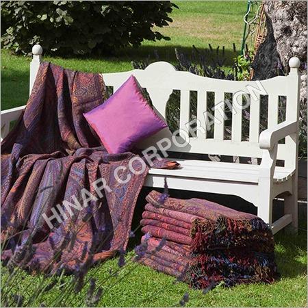 Woolen Throw Blanket