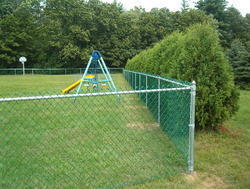 Vinyl Coated Chain Link Fence
