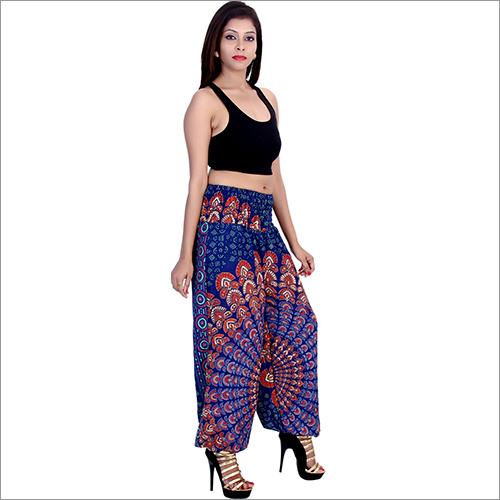 Rayon Mandala Harem Pants