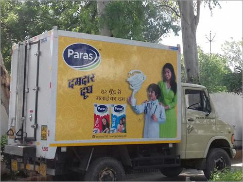Vehicle Branding Advertising Services