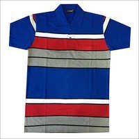 Half Sleeve Mens Polo T-Shirt