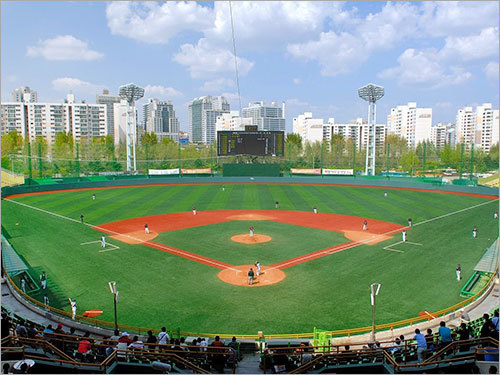 Moc-dong Baseball Field