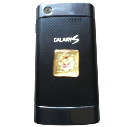 Anti Radiation Orgonite Golden Mobile Chip